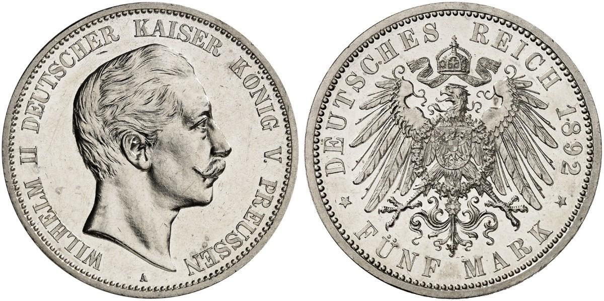 DE 5 Mark 1892 A