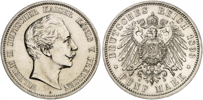 DE 5 Mark 1893 A