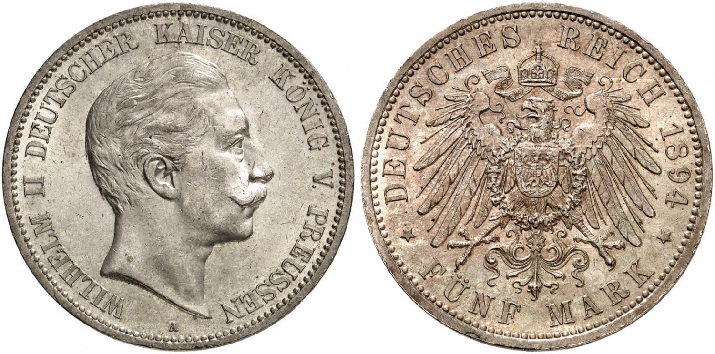 DE 5 Mark 1894 A