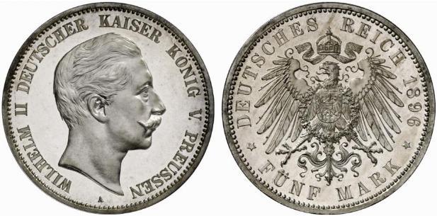 DE 5 Mark 1896 A
