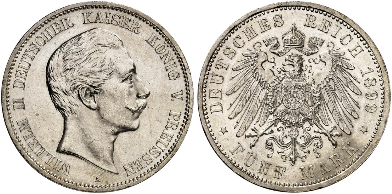 DE 5 Mark 1899 A