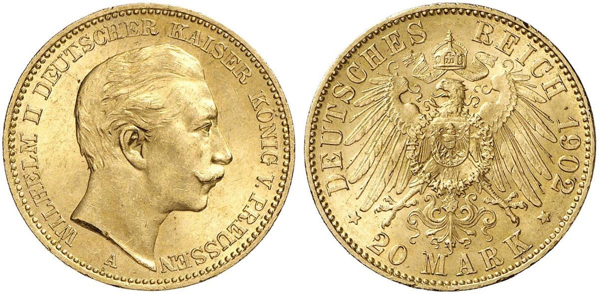 DE 20 Mark 1902 A