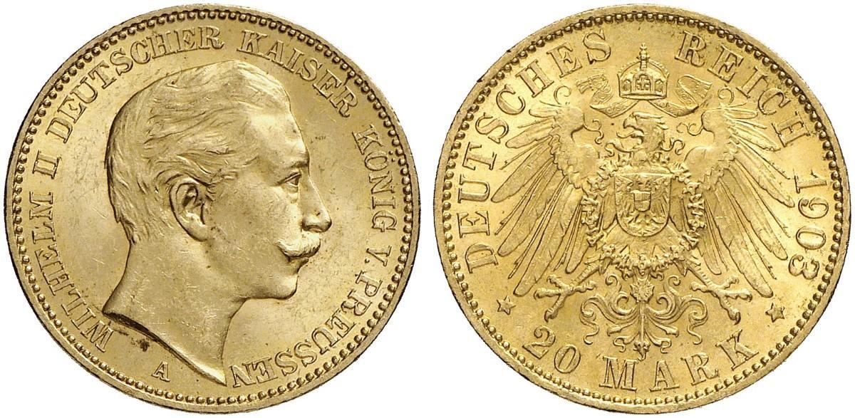 DE 20 Mark 1903 A