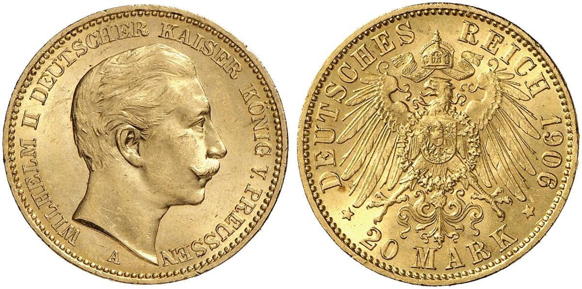 DE 20 Mark 1906 A