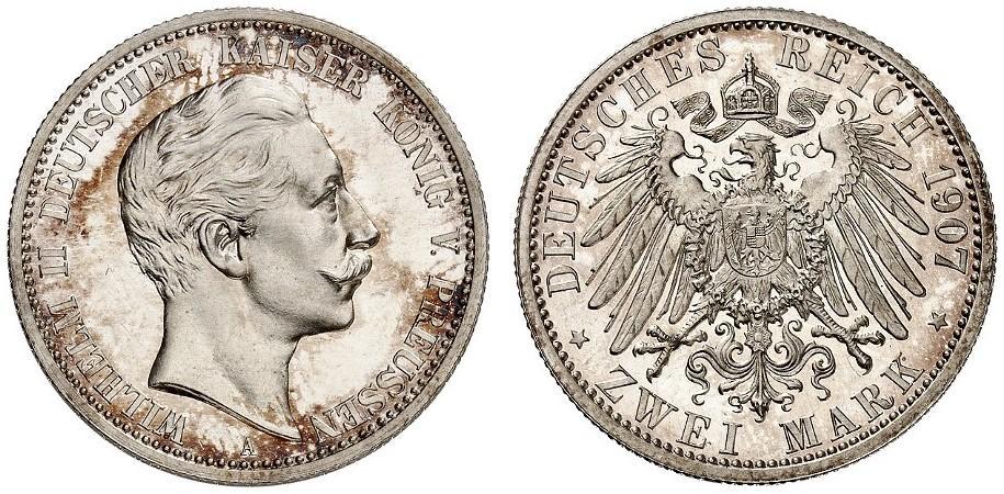 DE 2 Mark 1907 A