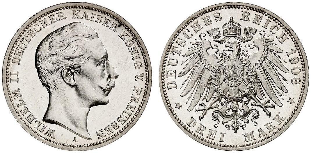 DE 3 Mark 1908 A