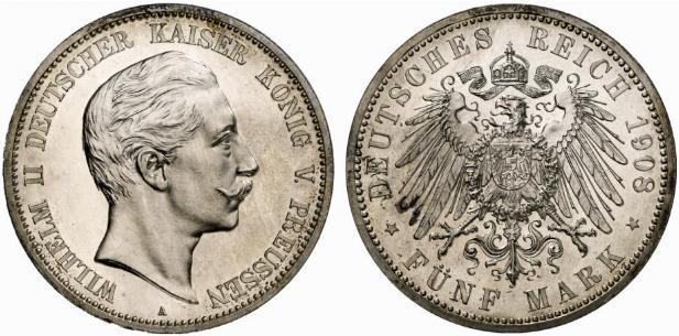 DE 5 Mark 1908 A