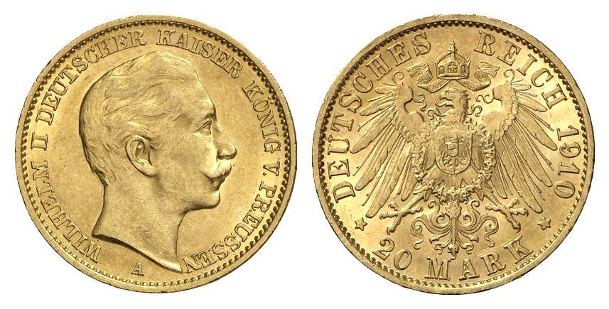 DE 20 Mark 1910 A
