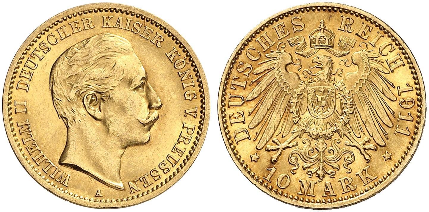 DE 10 Mark 1911 A