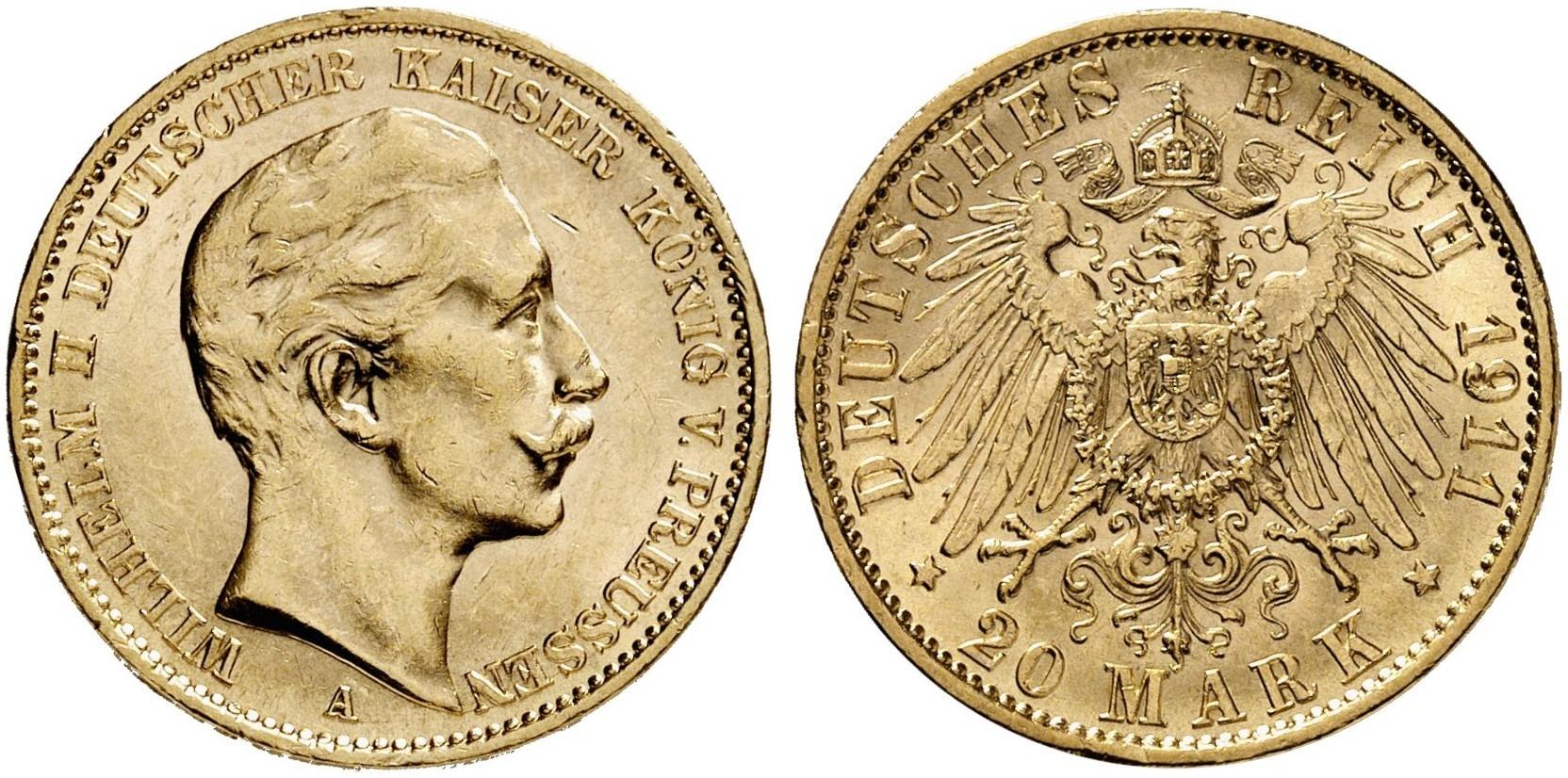 DE 20 Mark 1911 A