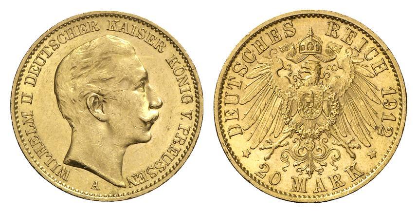 DE 20 Mark 1912 A