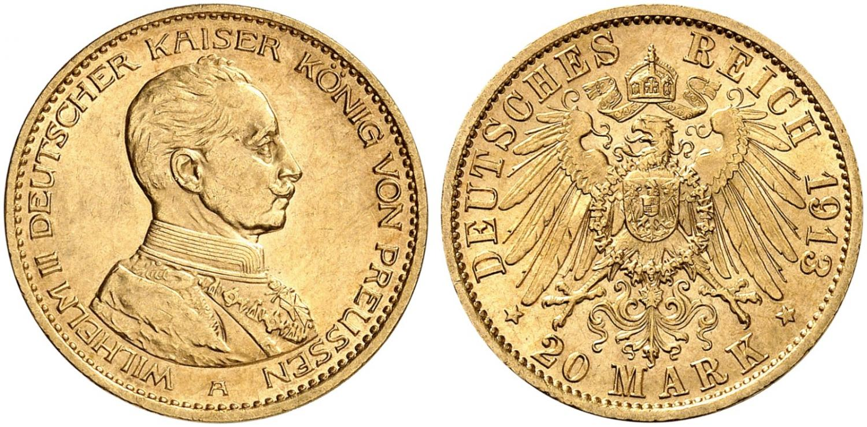 DE 20 Mark 1913 A
