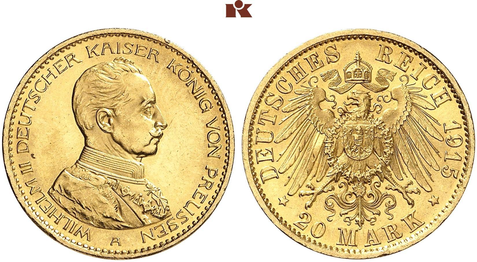 DE 20 Mark 1915 A