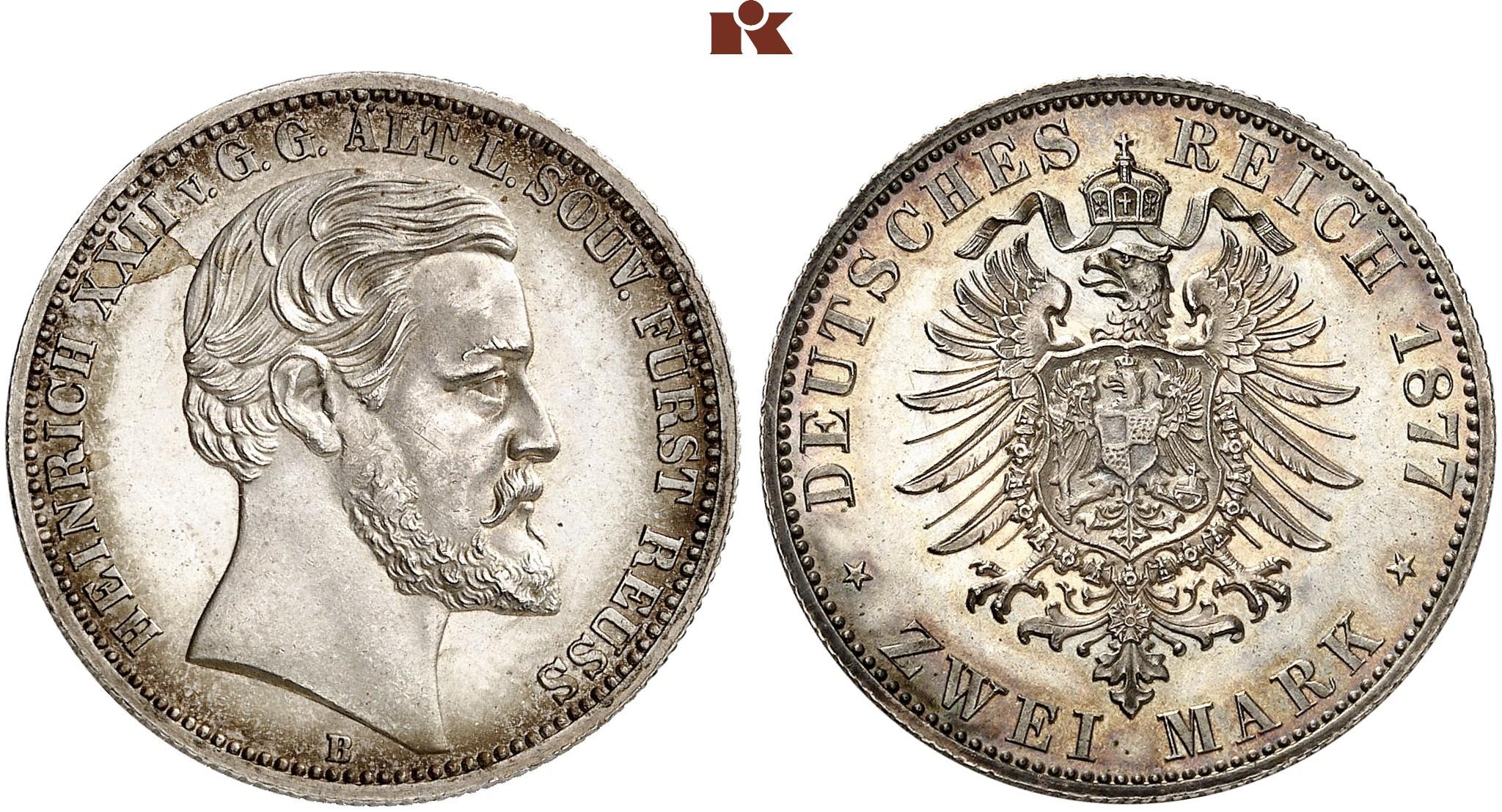DE 2 Mark 1877 B
