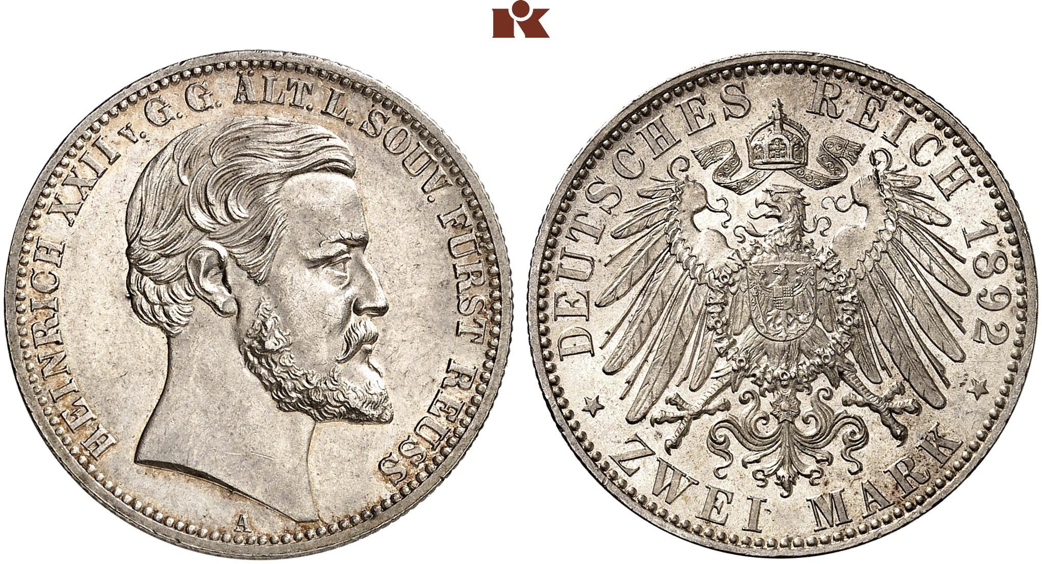 DE 2 Mark 1892 A