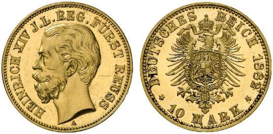 DE 10 Mark 1882 A