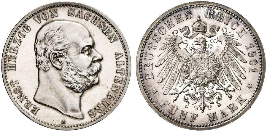 DE 5 Mark 1901 A