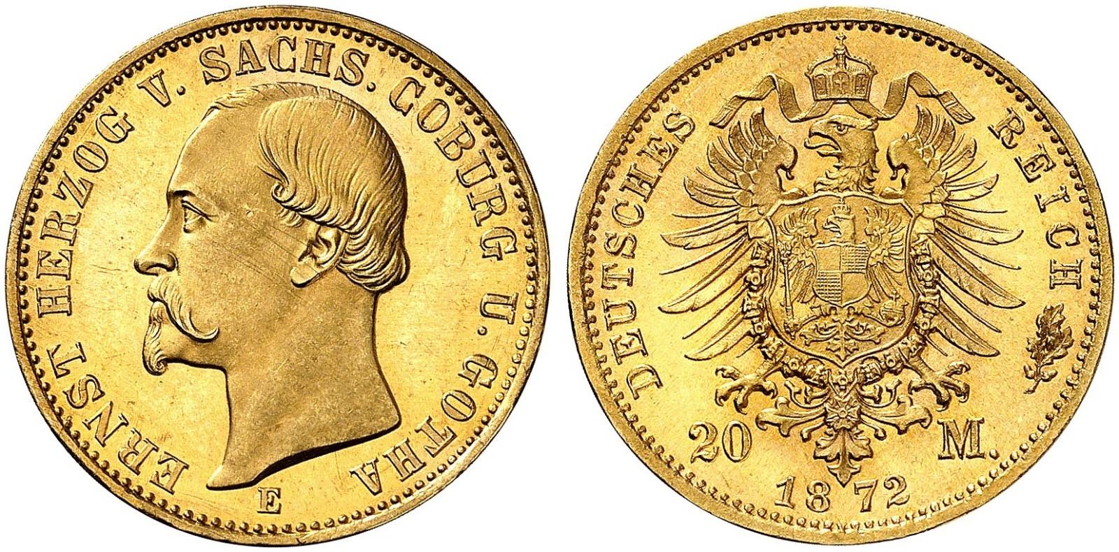 DE 20 Mark 1872 E