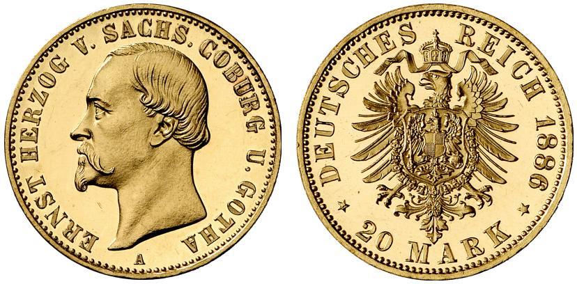 DE 20 Mark 1886 A