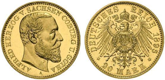 DE 20 Mark 1895 A