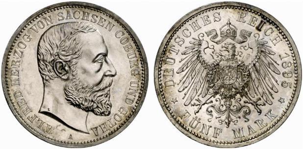 DE 5 Mark 1895 A