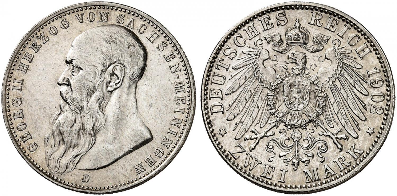 DE 2 Mark 1902 D