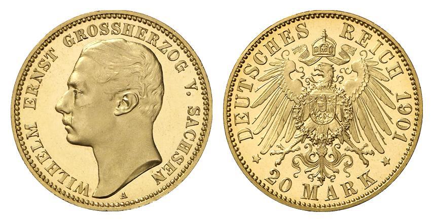 DE 20 Mark 1901 A