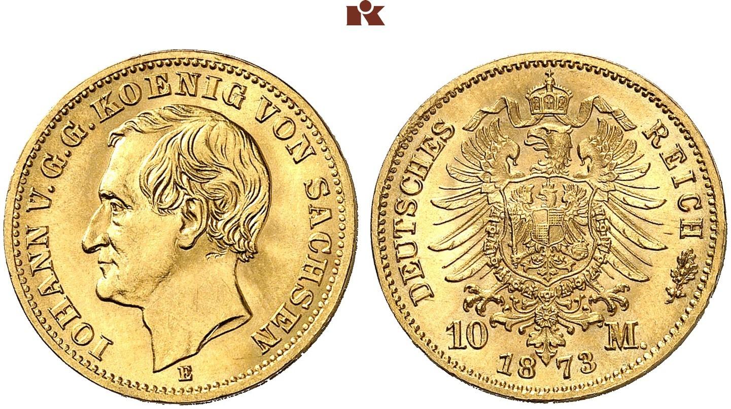DE 10 Mark 1873 E
