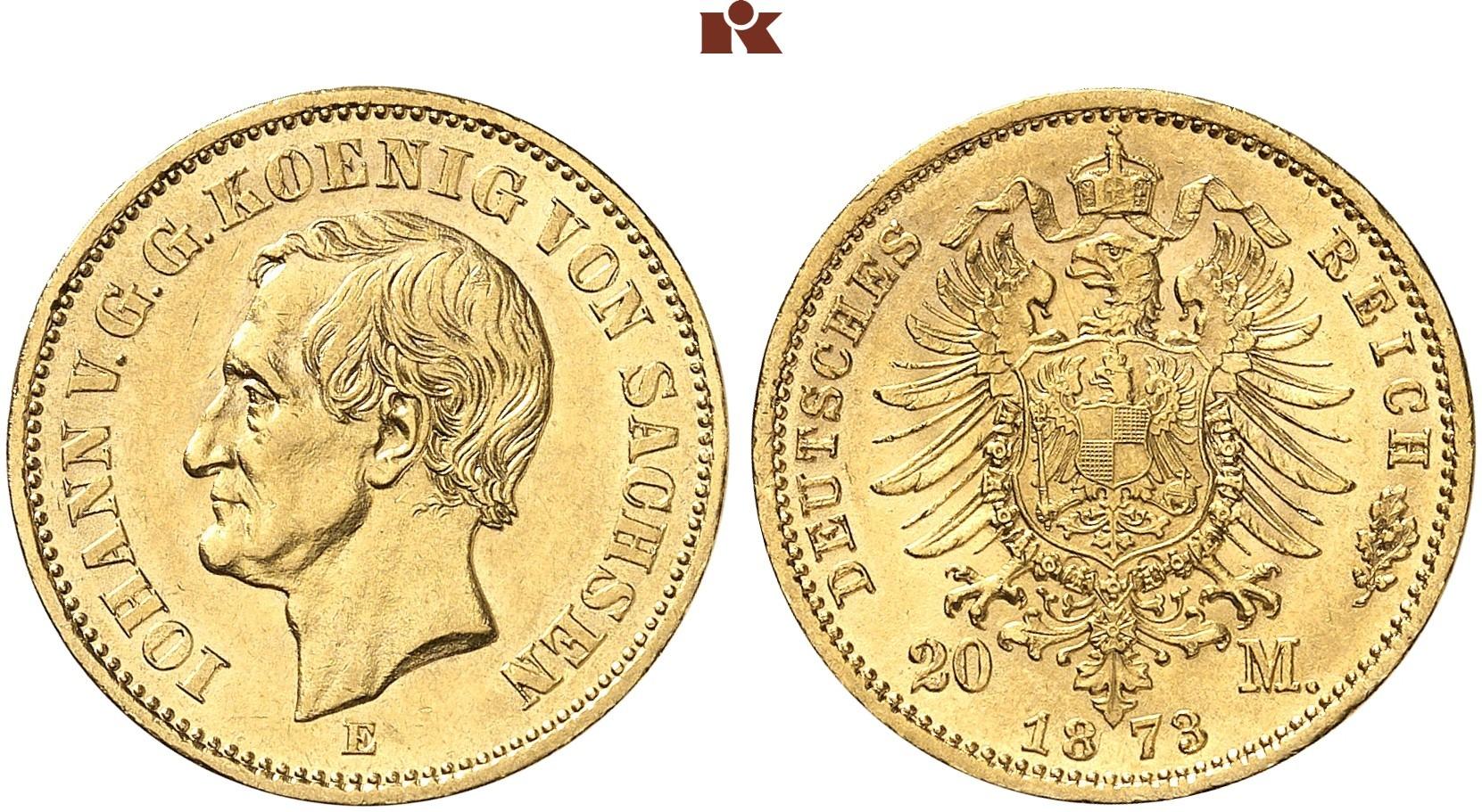 DE 20 Mark 1873 E