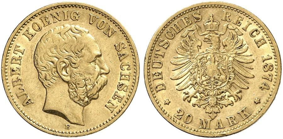 DE 20 Mark 1874 E