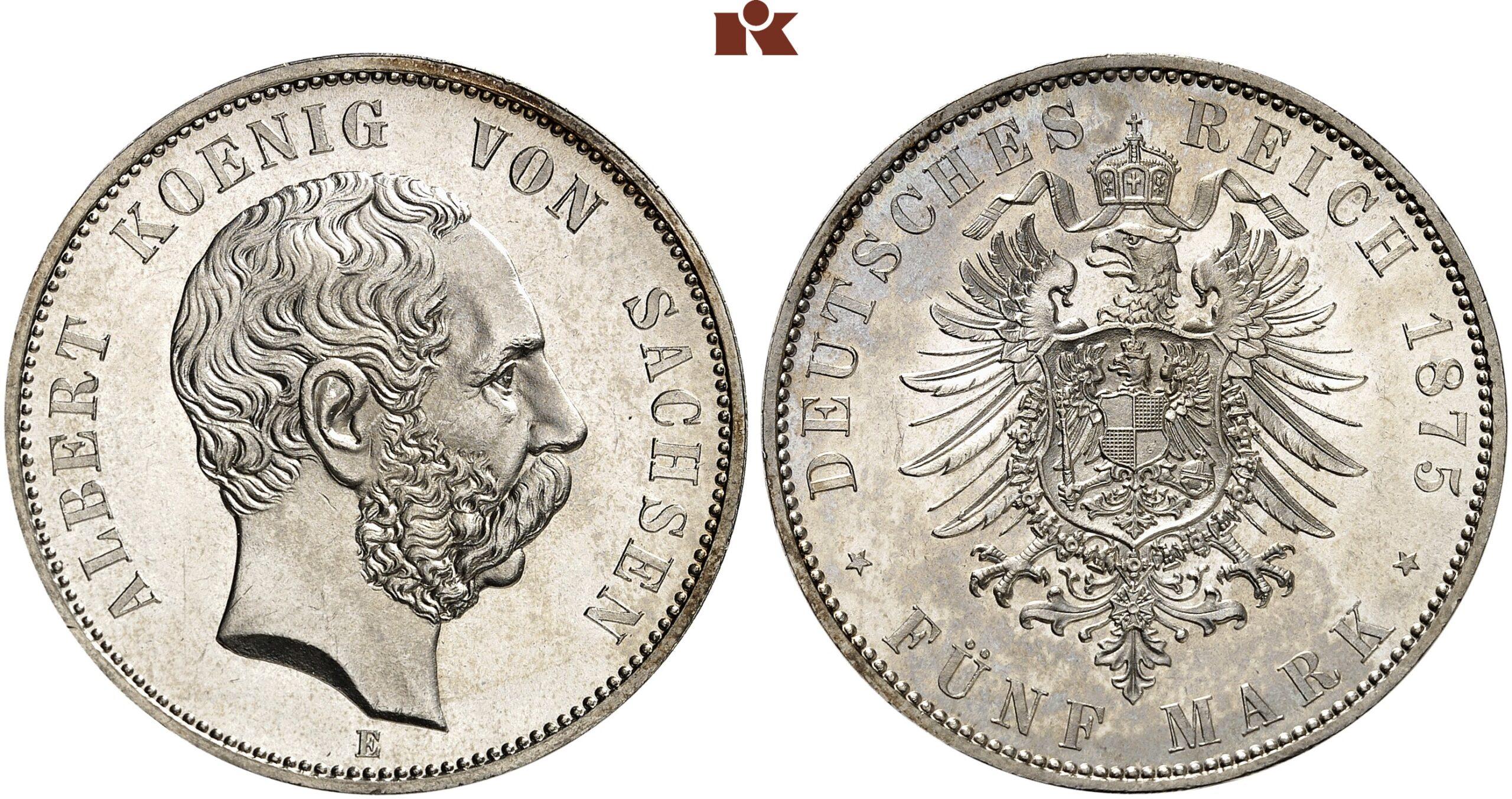 DE 5 Mark 1875 E