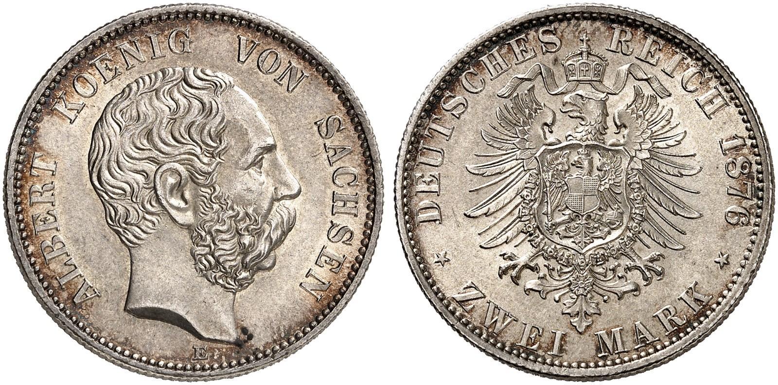 DE 2 Mark 1876 E
