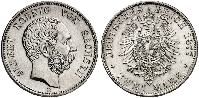 DE 2 Mark 1877 E