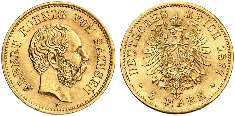 DE 5 Mark 1877 E