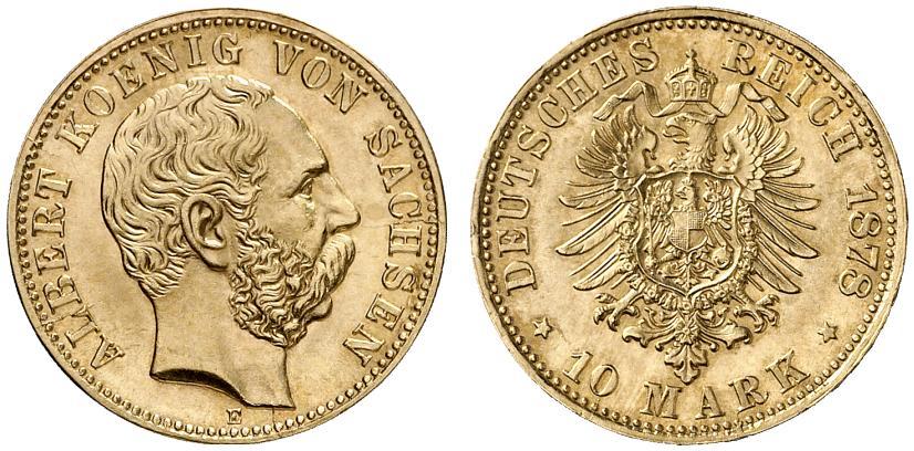 DE 10 Mark 1878 E