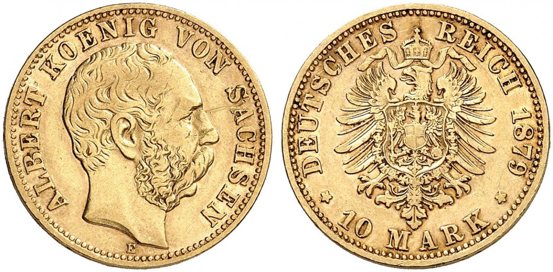 DE 10 Mark 1879 E
