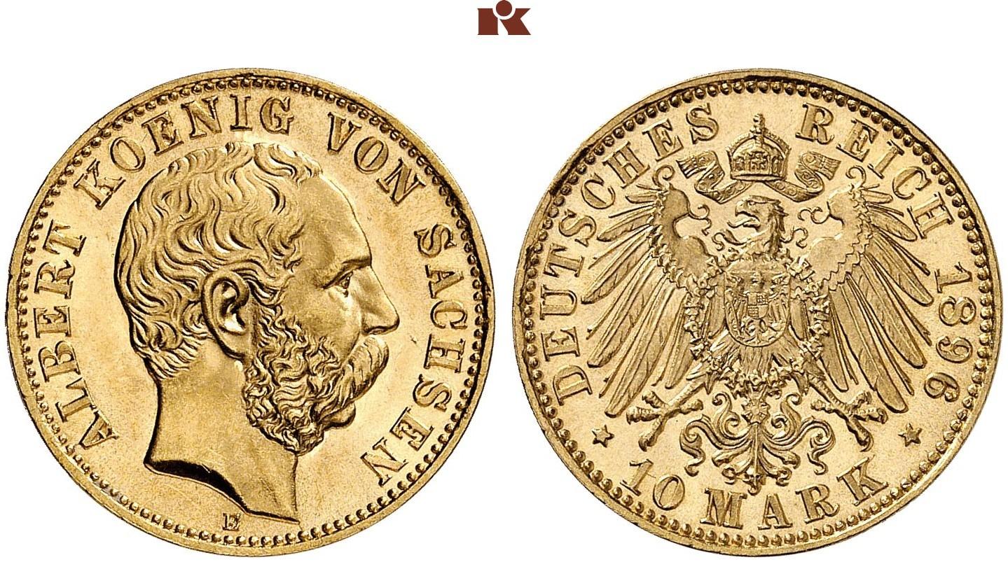 DE 10 Mark 1896 E