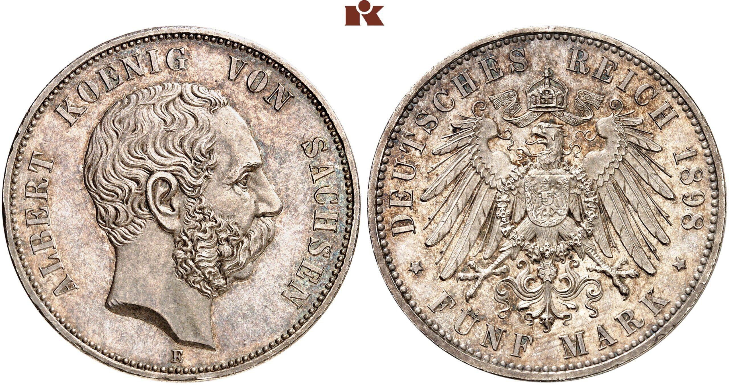 DE 5 Mark 1898 E