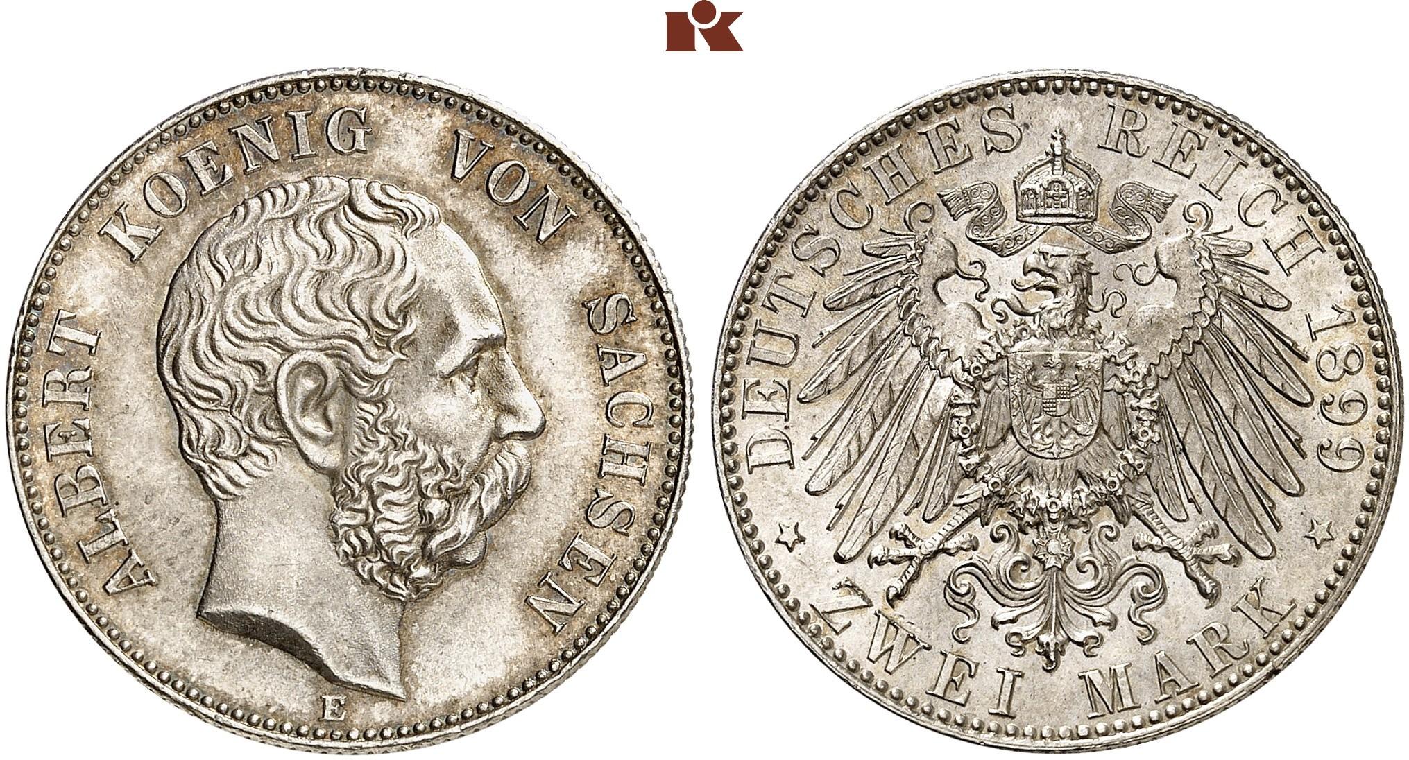 DE 2 Mark 1899 E