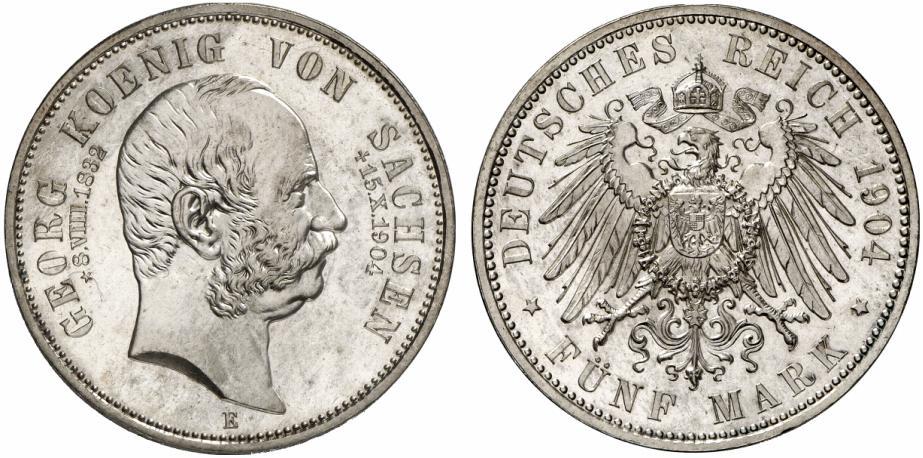 DE 5 Mark 1904 E