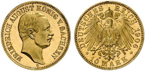 DE 10 Mark 1906 E