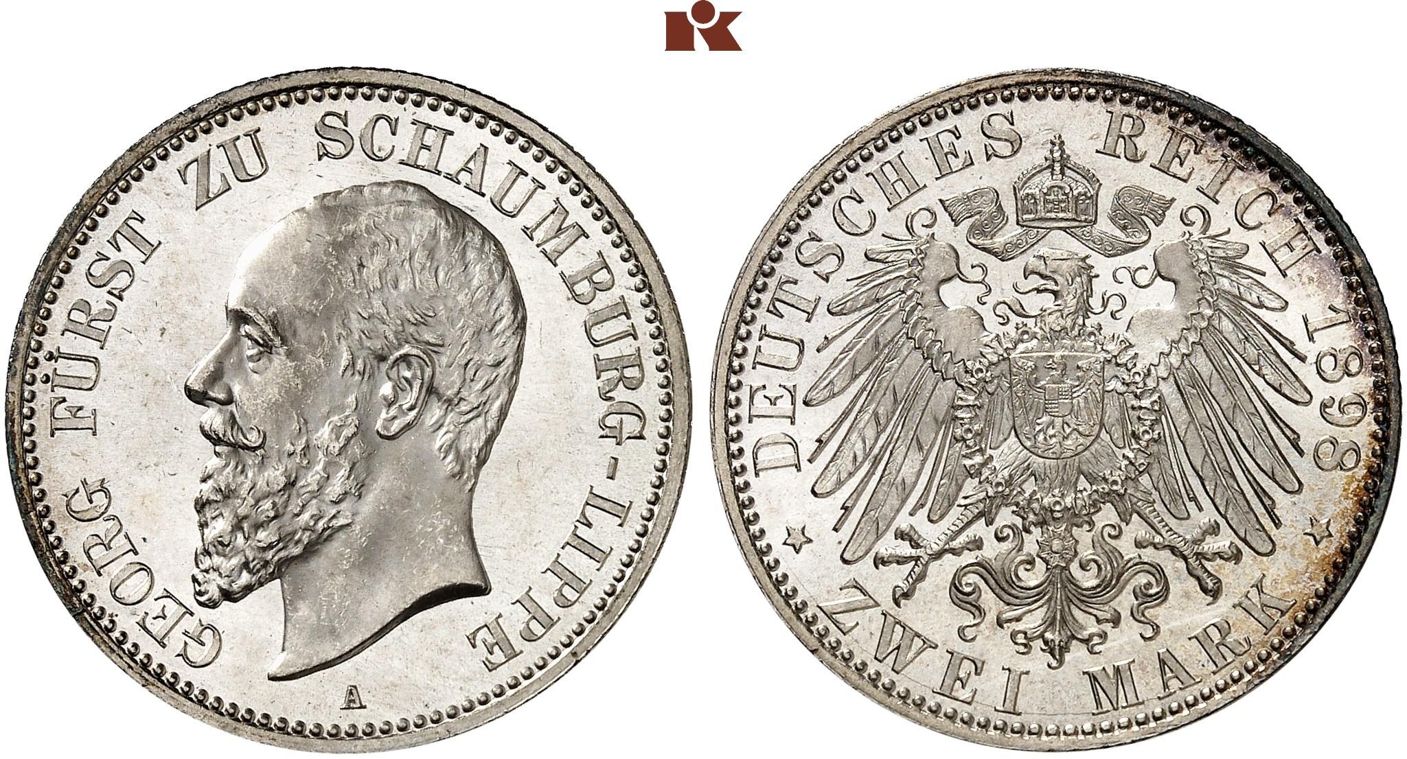 DE 2 Mark 1898 A