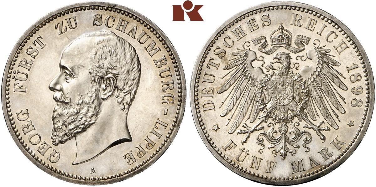 DE 5 Mark 1898 A