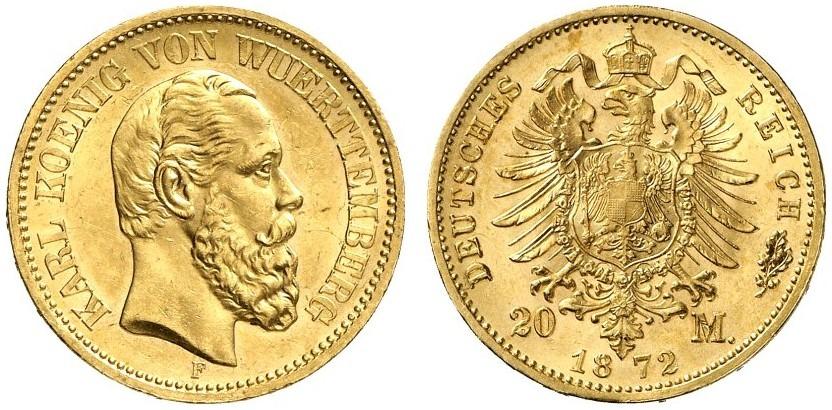 DE 20 Mark 1872 F