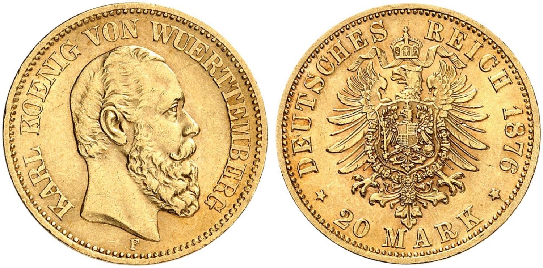 DE 20 Mark 1876 F