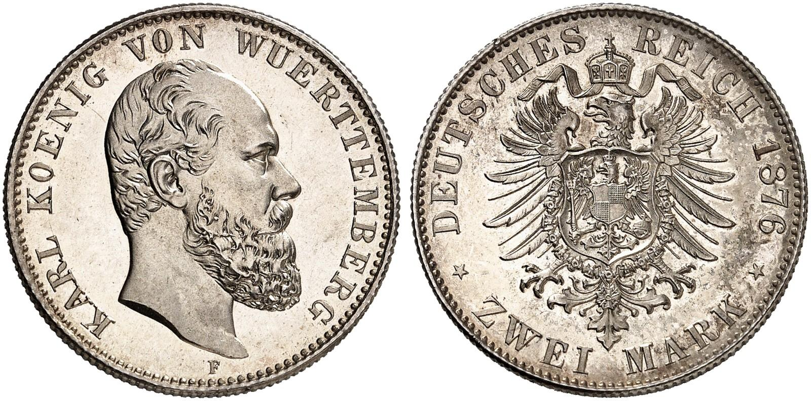 DE 2 Mark 1876 F