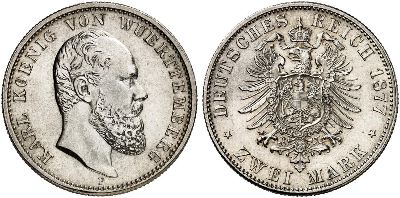 DE 2 Mark 1877 F