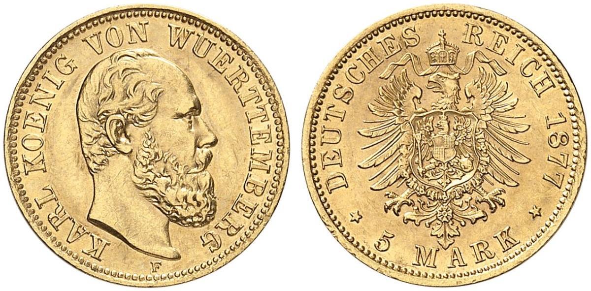 DE 5 Mark 1877 F