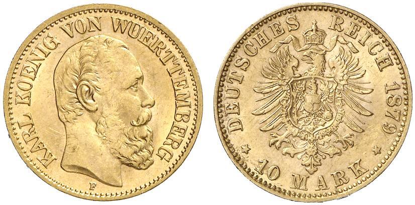 DE 10 Mark 1879 F