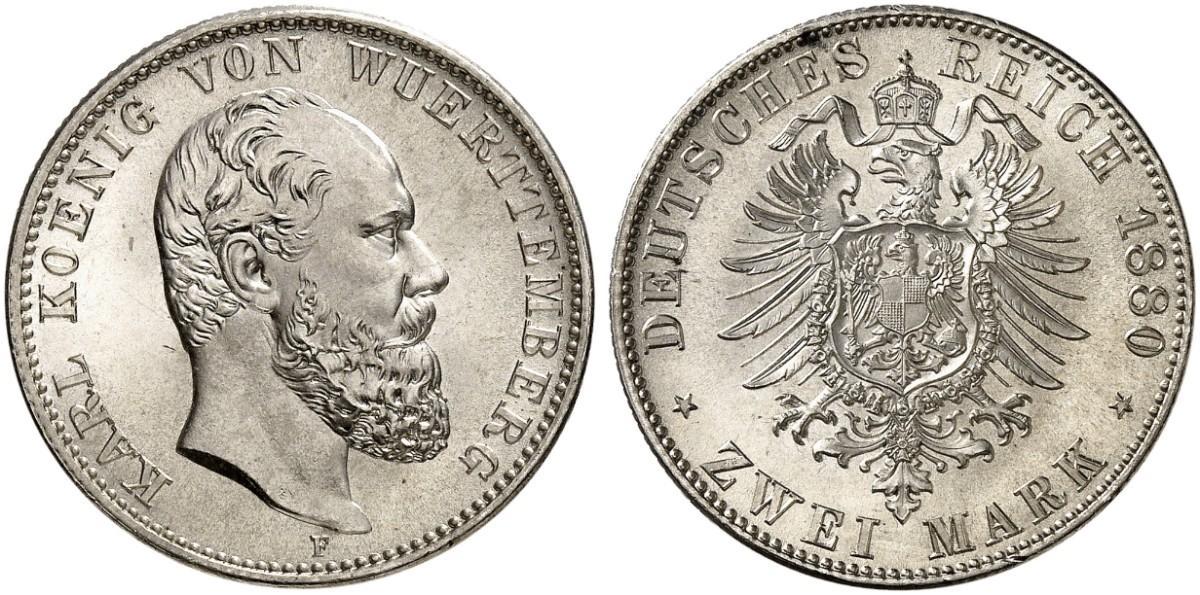 DE 2 Mark 1880 F